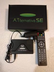 Спутниковый ресивер U2C A1 ternativa SE